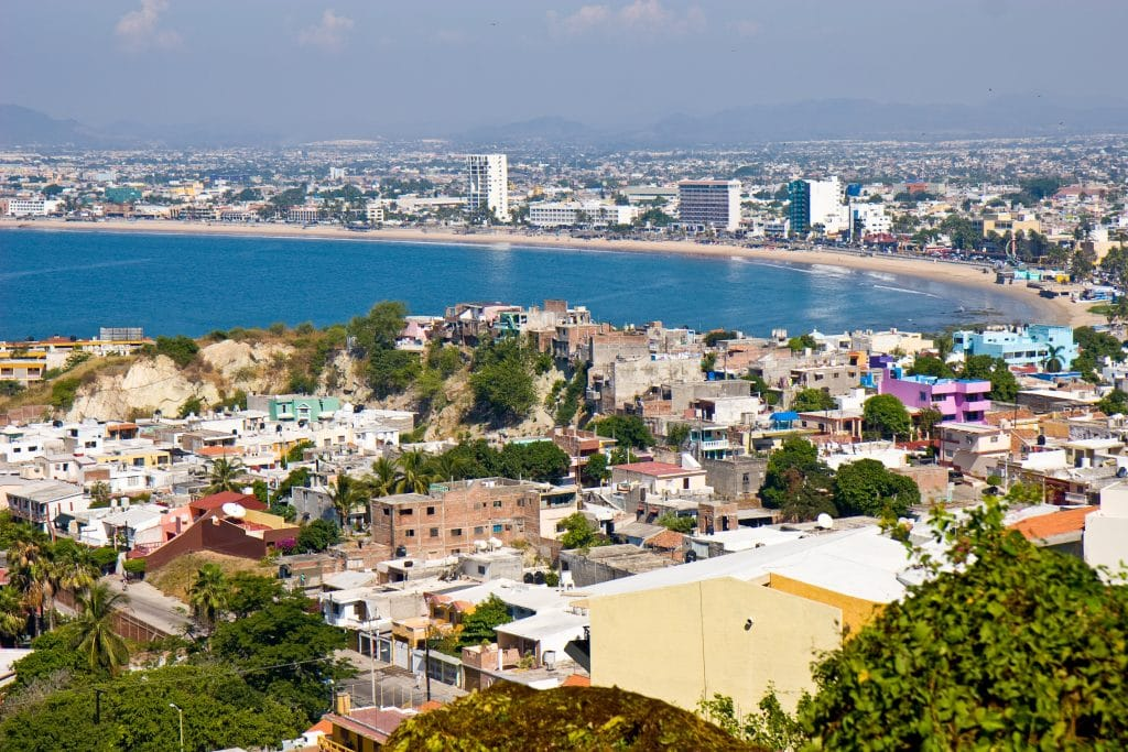 Overlooking the city of Mazatlan in Mexico, Tripps Plus Las Vegas