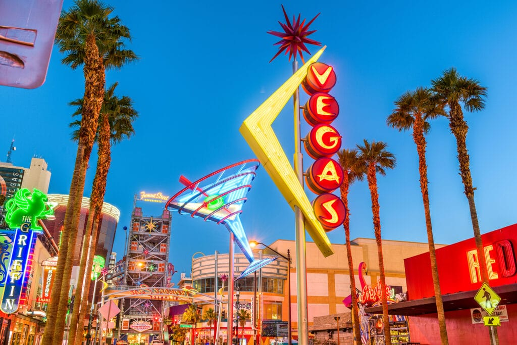 Fremont East District of Las Vegas
